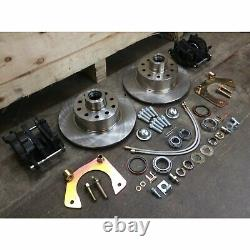 1974-78 Mustang II IFS Front End 11 Disc Brake Conversion 5x4.5 Fits OE Spindles
