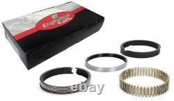 4.060 +. 005 Bore File Fit Moly Piston Rings Set 1/16 1/16 3/16 Groove