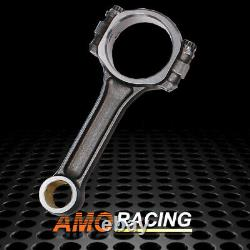 5140 Steel Connecting Rods Fit SBC Chevy I Beam 5.7 2.1.927 Bushed 565 Grams