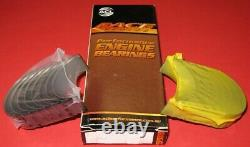 ACL 8B745H-010 Race Rod Bearings Chevy 265 283 302 327 Small Journal 2.0