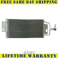 A/C Condenser For Chevy Impala Pontiac GP V6 V8 Lifetime Warranty Direct Fit