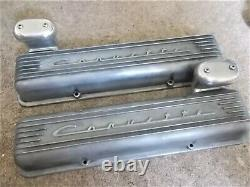 Chevrolet Corvette 3767493 Valve Covers From 1959-1967 But Will Fit All Sbc