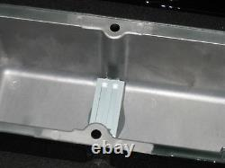 Custom Machine Ghostie Chevy Small Block Tall Valve Cover 12 oval Air Cleaner