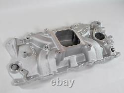 Edelbrock Torker II Intake Manifold 5001 Chevy SBC 283 327 350 Fits Stock Heads