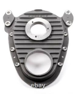 Enderle 5001 Natural Aluminum 1 Piece Timing Cover Fits Small Block Chevy