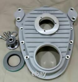 Enderle 5001+ Spud + Seal Timing Cover Fits Small Block Chevy
