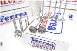 Ferrea 6000 Series Exhaust Valves 1955-2012 Fits SBC 1.600 11/32 5.01 0.25 Chevy