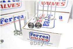 Ferrea 6000 Series Exhaust Valves Fits SBC LS3 LS2 LS1 L92 1.600 x 4.915 Chevy