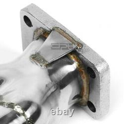 Fit 65-89 Chevy Sbc 4.6-6.6 V8 T3 Stainless Steel Racing Turbo Manifold Exhaust