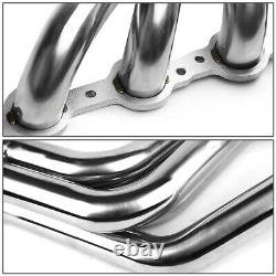 Fit 67-74 Sbc V8 Ls/Ls1-Ls6 Lsx Swap Stainless Long-Tube Header Exhaust Manifold