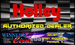Holley 12-327-13 130+ GPH Mechanical Fuel Pump Fits Small Block Chevy V8s