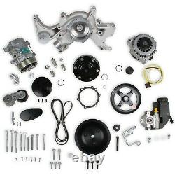 Holley 20-240 Small Block Chevy Mid-Mount Complete Accessory Drive Kit Fits Gen