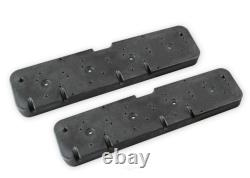 Holley 241-298 Valve Cover Adapter Plates GM LS Engines Fits Small Block Chevy