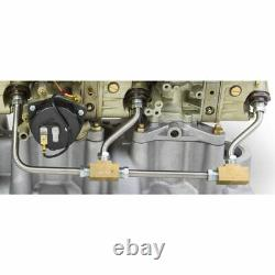 Holley 34-51 3X2 Fuel Line Kit Small Block Chevy Fits 510-300-521 and 510-300-52