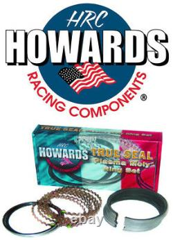 Howards Cams SBC Chevy Piston Rings Plasma Moly 1/16 1/16 3/16 4.160 File Fit