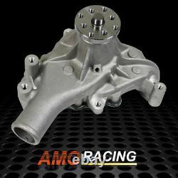 Long Aluminum Water Pump High Volume Fits Chevy SBC 283 305 327 350 400