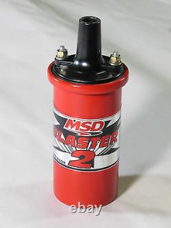 MSD Blaster 2 Ignition Coil 8202 Fits Sbc Bbc Ford Chevy Mopar Dodge