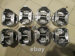 NIB/sbc PERFECT CIRCLE/CHEVROLET 350/4 STD PISTON SET WithWRIST PINS THRU 1995