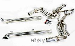 OBX Exhaust Header Long Tube Fits 1965-82 Chevy Corvette C2 C3 Stingray SBC V8