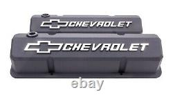 Proform 141-921 Valve Covers Aluminum/Tall Fits Small Block Chevy