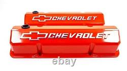 Proform 141-924 Valve Covers Aluminum/Tall Fits Small Block Chevy