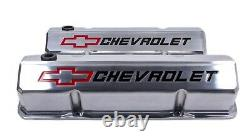 Proform 141-927 Valve Covers Aluminum/Tall Fits Small Block Chevy