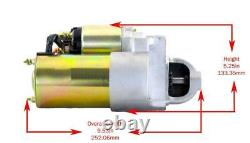 Sbc Bbc Chevy 3hp High Torque Mini Starter Fits 327 350 400 153 Tooth Flywheel