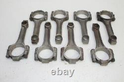 Small Block Chevy 5.700 I Beam Steel Connecting Rods Large Journal Press Fit