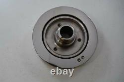 Small Block Chevy 6.75 Damper Fit 350 V8 Eng Polished Stainless Steel