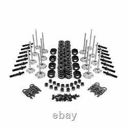 Small Block Chevy Head Build Valvetrain Kit fits Chevy 3/8 studHydraulic Roller