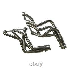 Small Block SBC Long Tube Headers Stainless Steel FITS Chevy Truck AGS0131