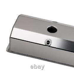 Valve Covers Fit Chevy Chevrolet SBC Fabricated Aluminum 283 327 350 383 400