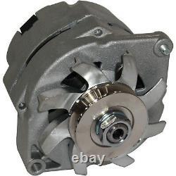 100amp Alternator Convient À Chevrolet Gm Sbc Bbc Chevy 1 Wire