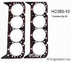 1957-2002 Convient Chevy Gmc Sbc 283 302 307 327 350 Joints De Tête De Cylindre 10 Pack