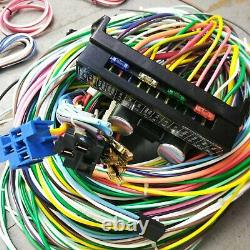 1967-1969 Chevy Camaro Under Dash Wiring Harness Upgrade Kit Fits Indolore Caisse