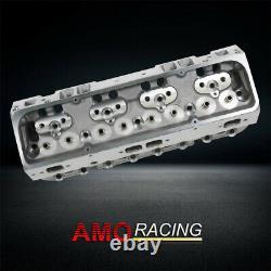 2pcs Nouveau 200cc 64cc Cylindre Droite En Aluminium Tête Convient Chevy Sbc 350 383