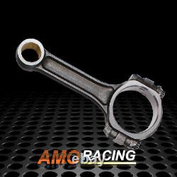5140 Steel Connecting Rods Fit Sbc Chevy I Beam 5.7 2.1.927 Bushed 565 Grammes