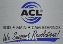 Acl 8b745hx-std Roulements De Tige De Course Chevy 265 283 302 327 Petit Journal 2.0