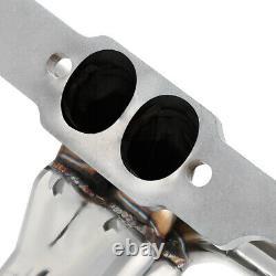 Ajustement 55-57 Sbc Small Block Hugger V8 265/283 Tri-5 Exhaust Manifold Shorty Header