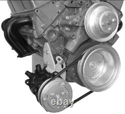 Alan Grove Tight Fit Low Mount A/c Compresseur D'air Support Sb Chevy Sbc Lwp 107r