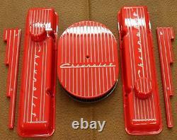 Chevrolet Hugger Orange Small Block Tall Valve Cover Set Vintage Show Qualité