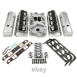Convient Chevy Sbc 350 Hyd Ft 190cc Straight Plug Cylinder Head Top End Engine Co