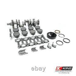 Convient Chevy Sbc 383 2pc. Cast Crank I-beam Hyper Pistons Balanced Stroker Kit