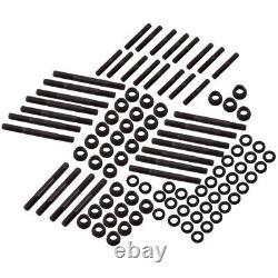 Cylindre Head Stud Kit Fit Chevy Sbc 305 327 400 350 Petit Bloc 134-4001