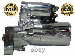 Démarreur 3hp Chrome Fit High Torque Mini Chevrolet Sbc Bbc 153/168 Tooth 18492