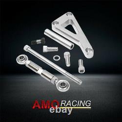 Direction D'alimentation En Aluminium Poli Avec Alternator Bracket Fit Small Block Chevy Lwp
