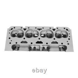 Fit Chevy Small Block 350 Sbc 200cc Aluminium Bare Cylinder Head 68cc Straight