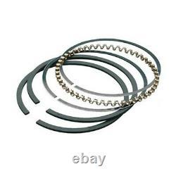 Hastings Chevy 360 388 Sbc Plasma Moly Piston Rings +65 File-fit 1/16 1/16 3/16