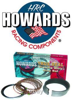 Howards Cams Sbc Chevy Piston Anneaux Plasma Moly 1/16 1/16 3/16 4.160 Fit Du Fichier