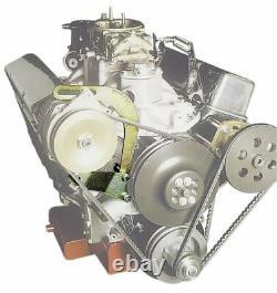 Moroso 63825 Alternator Bracket Courte Pompe À Eau Convient Petit Bloc Chevy
